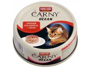 Carny Ocean tuňák a hovězí - konzerva 80 g