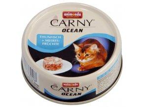 mořeské plody v želé pro kočky