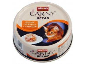 Carny Ocean tuňák a krevety - konzerva 80 g