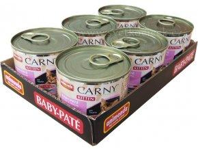 Carny Kitten MULTIPACK Baby-paté - konzerva pro koťata 6x200g