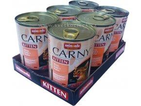 Carny 400g Kitten telecí 6ks+