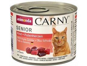 masové konzervy pro starší kočky