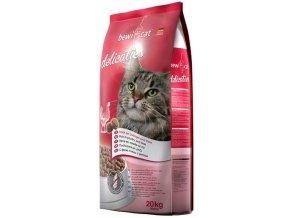 20 kg bewi cat delicaties chutné granule pro kočky