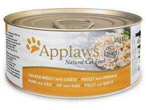Applaws konzerva kuře sýr 70g