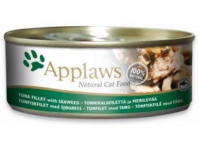 Applaws tuňák a mořské řasy - konzerva 156 g