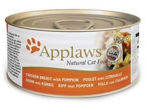 Applaws konzerva kuře dýně 70g