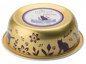 Nuevo Lovely Filets Sterilized krůta a telecí - vanička pro kočky 85 g