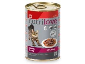 NutriLove dog chunks gravy VEAL TURKEY 415g 2 2