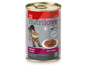 NutriLove dog chunks gravy VEAL TURKEY 415g 2 2