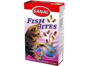 Sanal Fish Bites krabice