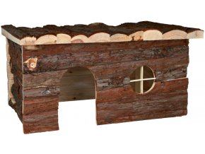 Dřevěný domeček pro králíka Jerrik