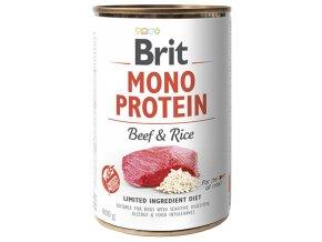 brit konzervy mono beef rice