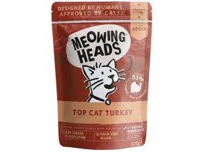 meowing heads krůta pro kočky