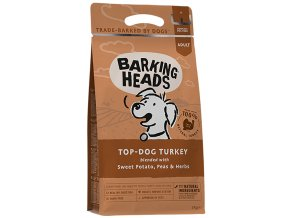 Barking Heads Top-Dog Turkey 12 kg