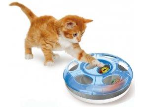 Catch The Balls - UFO hračka pro kočky se 2 míčky