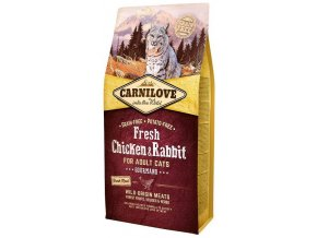 Carnilove Fresh Chicken and Rabbit 6 kg