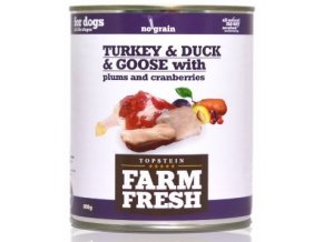 FARM FRESH KONZERVY FF TURKEY DUCK GOOSE ESHOP
