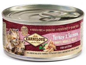 masové konzervy carnilove pro kotata