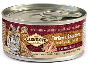 17046 CL CAT CAN 100g turkey and reindeer for adult dogs 3D RGB 150dpi