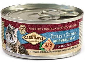 17046 CL CAT CAN 100g turkey and salmon for adult dogs 3D RGB 150dpi