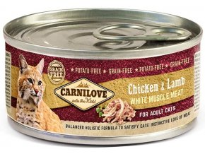17046 CL CAT CAN 100g chicken and lamb for adult dogs 3D RGB 150dpi