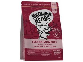 Meowing Senior Moments 450 g