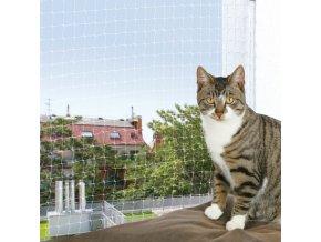 Ochranná síť pro kočky 4x3 m