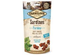 CL SNACKS CAT sardine&parsley 3D 50g CL SNACKS CAT sardine&parsley 3D 50g