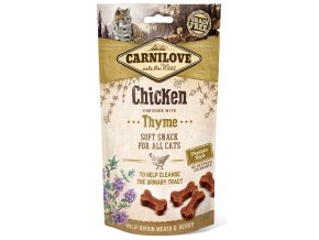 CL SNACKS CAT chicken&thyme 3D 50g CL SNACKS CAT chicken&thyme 3D 50g