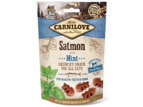 CL SNACKS CAT salmon&mint 3D 50g K1 CL SNACKS CAT salmon&mint 3D 50g K1