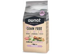 Ownat Just Grain Free Sterilized 3 kg