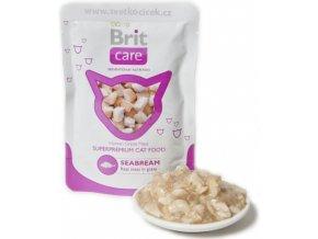 Brit Care Cat mořský cejn - kapsička 80 g