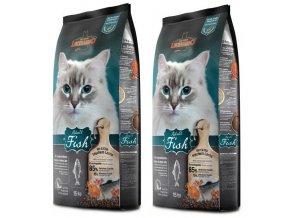 Velké výhodné balení kvalitních granulí pro kočky s rybou