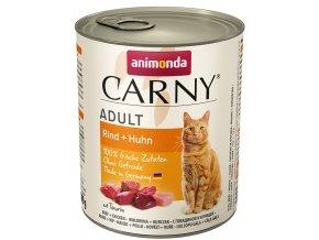 hovězí konzervy pro kočku