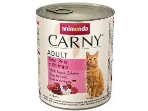 krevety v konzervě pro kočky