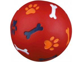 Míč na pamlsky pro malého psa 7 cm