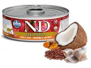ND quinoa skin herring pro kocku