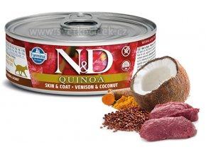 ND quinoa skin venison+