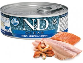 ND konz ocean trout salmon shrimps+