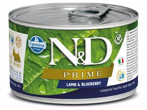 ND Prime Lamb Blueberry konz