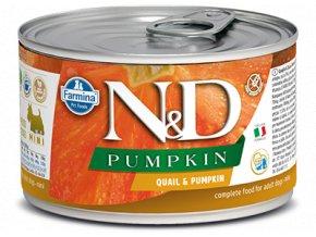 ND Quail Pumpkin konz