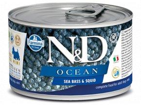 ND sea bass squid konz
