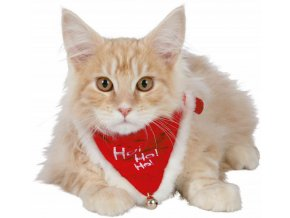 Vánoční šátek kočka
