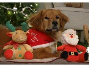 Vánoční šátek m