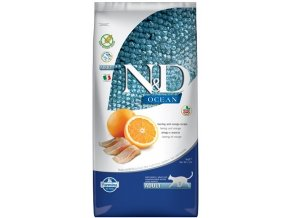 Natural Delicious granule pro kočky s rybou
