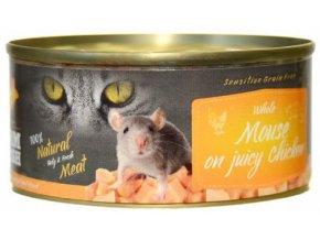 myš v konzervě pro kočky