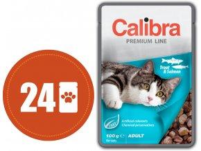 Calibra kapsa pstruh losos 2019 multipack
