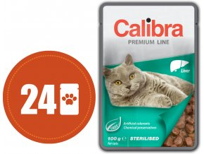 Calibra kapsa sterilised játra multipack