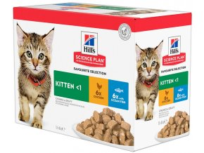 balení kapsiček pro kotata hills