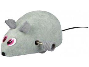 Myška natahovací 7 cm - hračka pro kočky